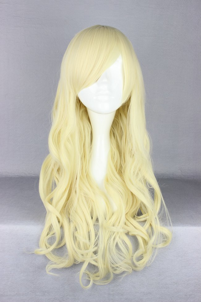 wavy 28 Inches Capless 120% Synthetic Hair