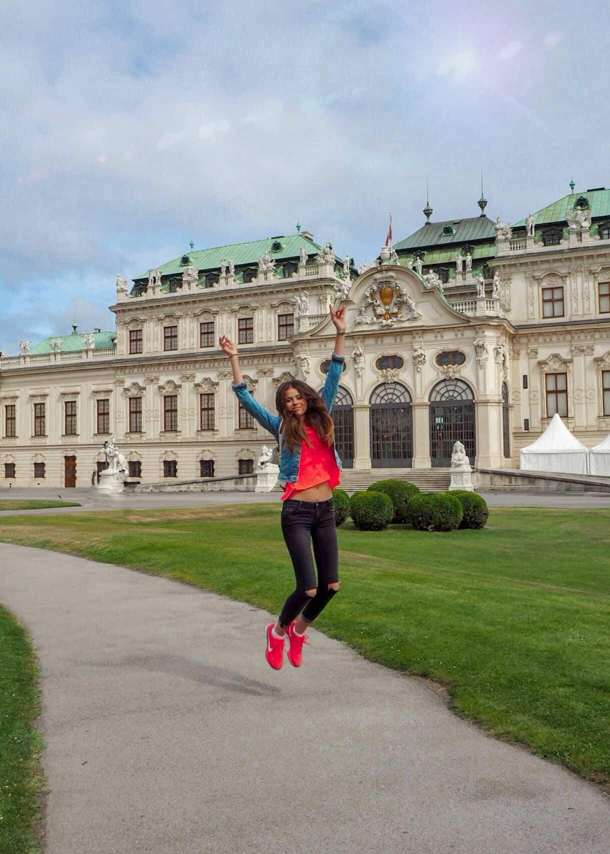Diana Ella - Belvedere Palace - Vídeň