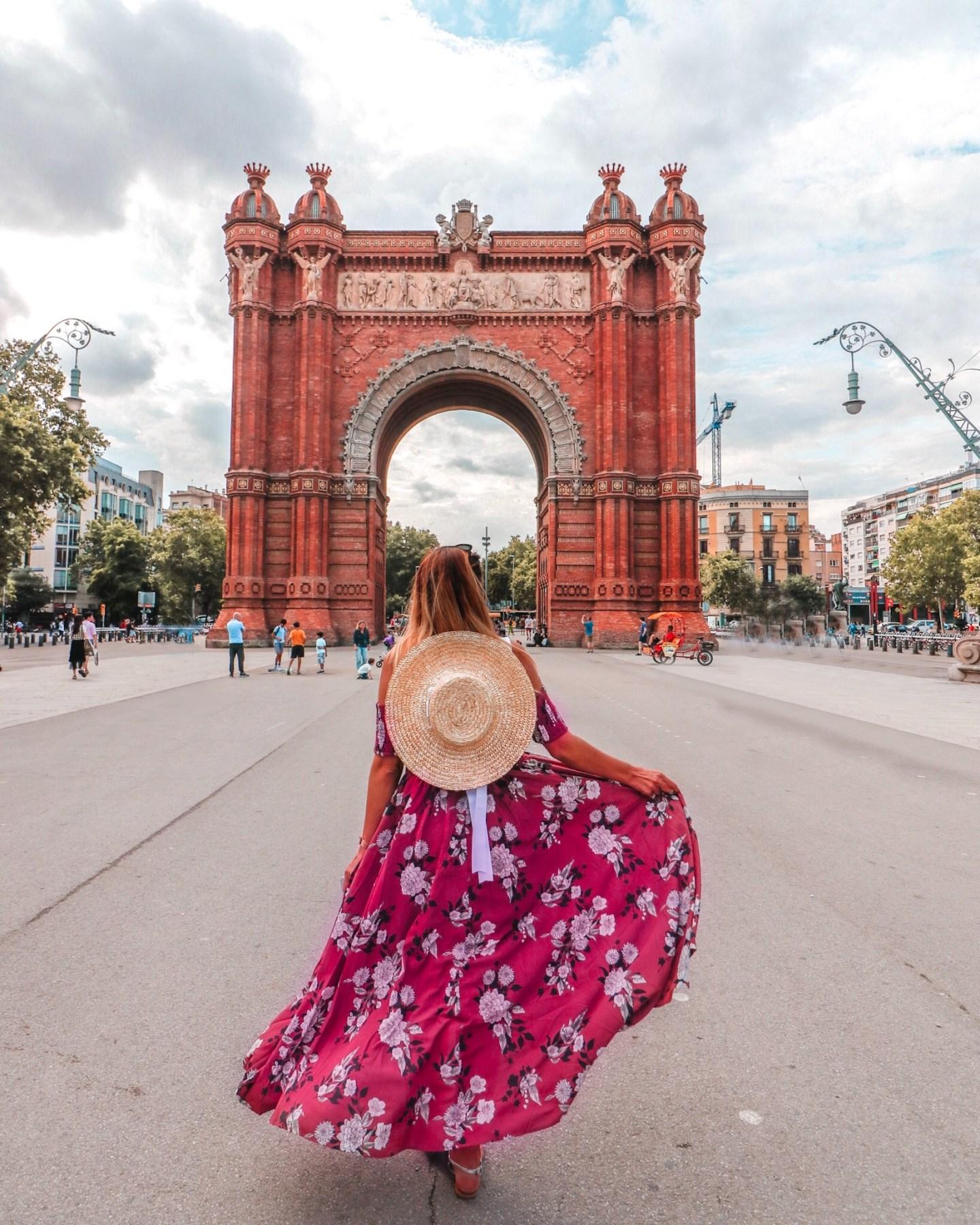 Arc de Triomf instagram spot Barcelona
