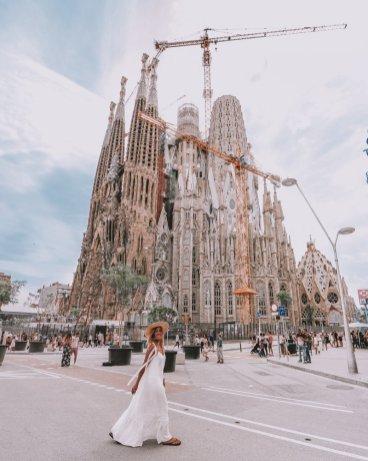 Sagrada Familia foto Instagram