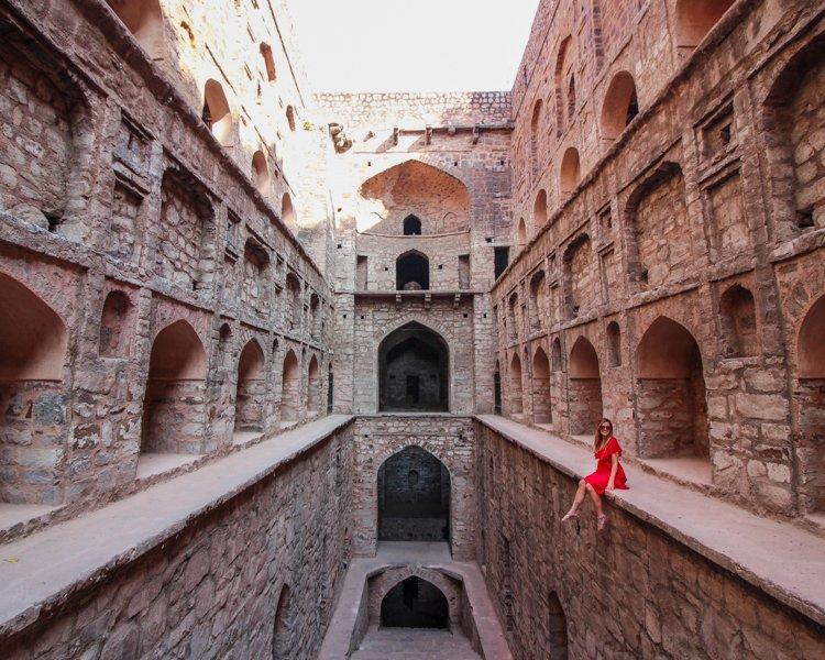 Que ver en Delhi: Agrasen Ki Baoli