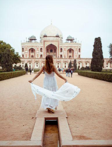 Tumba Humayun Nueva Delhi
