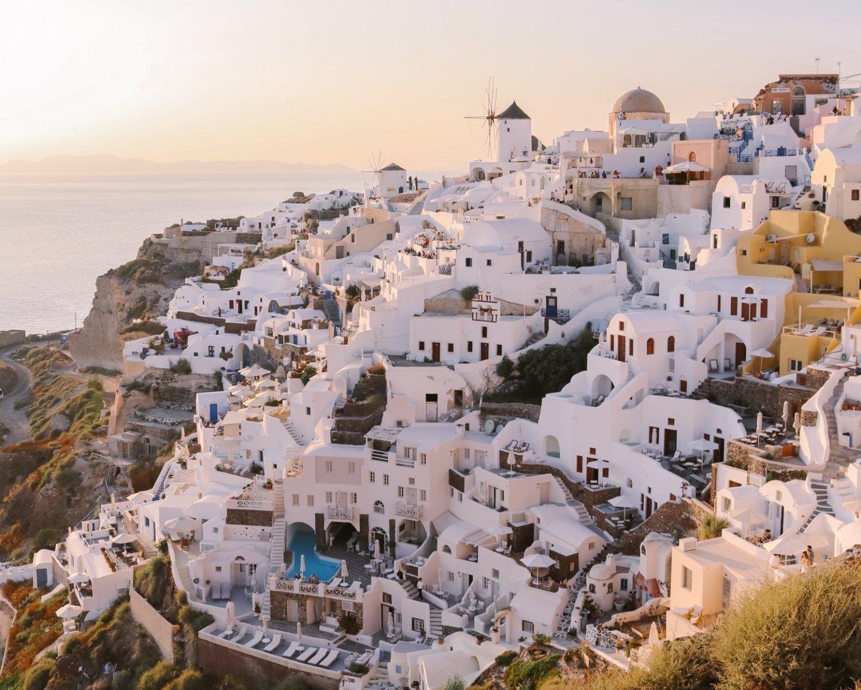 Dónde dormir en Santorini