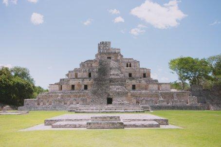 Edzná Campeche Mexico
