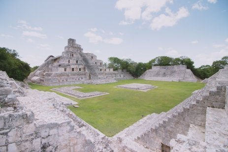 Edzna Campeche Mexico
