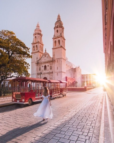 Campeche historic center