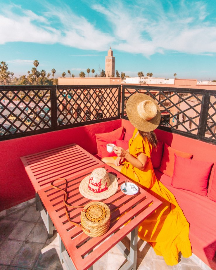 Rooftops in Marrakech