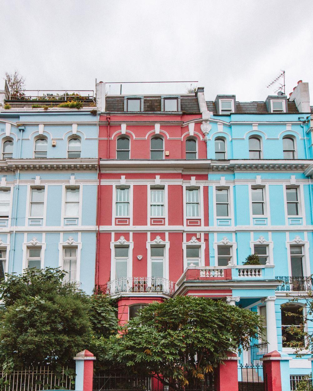Instagram spots in Notting Hill