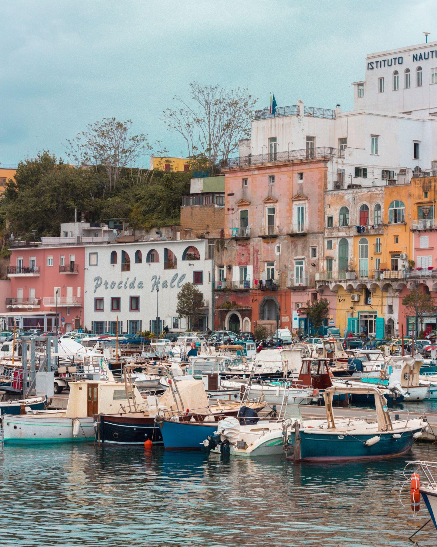 Boats in Marina Grande Procida