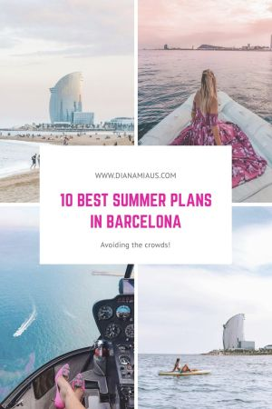 Best summer plans in Barcelona