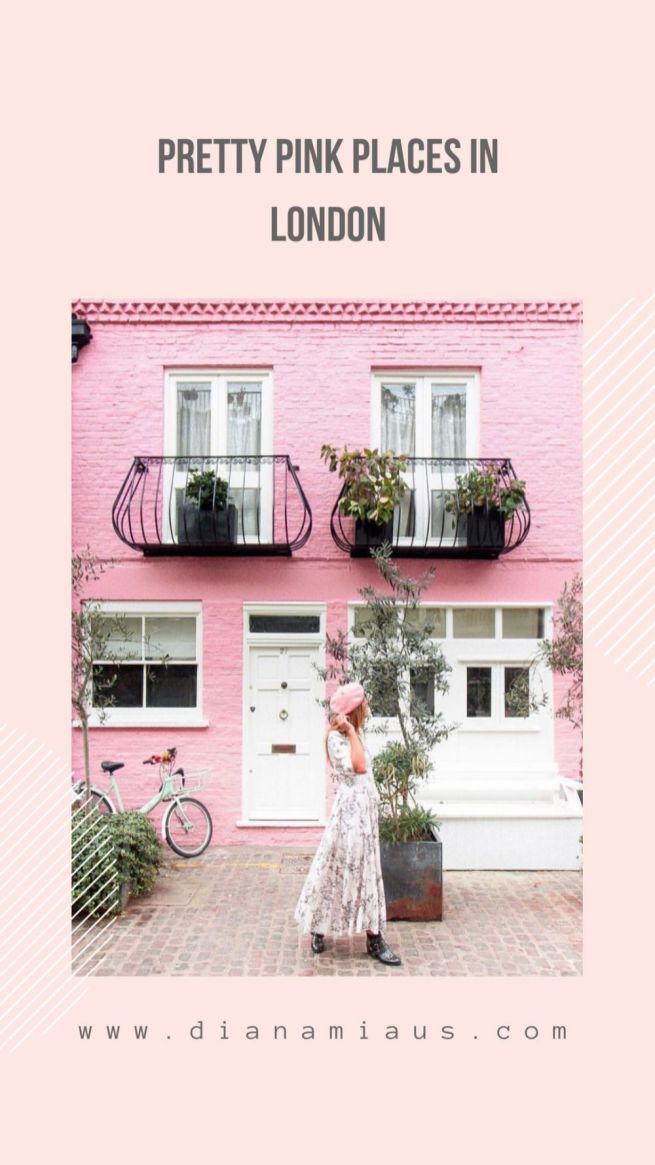 pink places London