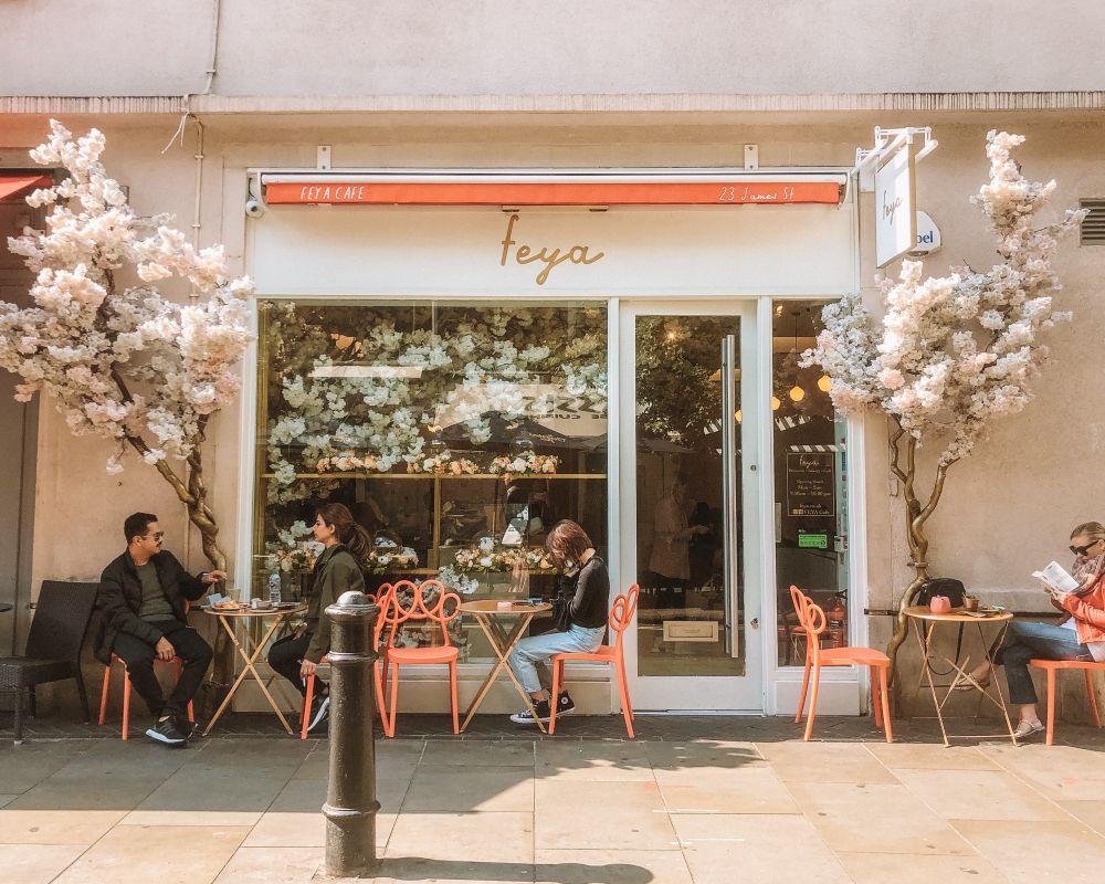 Feya cafe in London