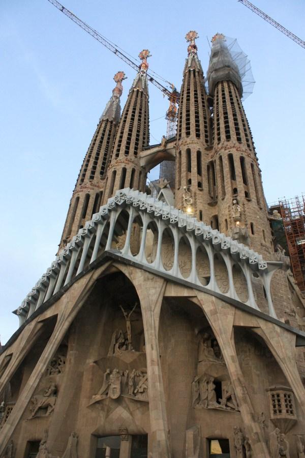 Barcelona Spain Antoni Gaudi Architecture Tourist Guide