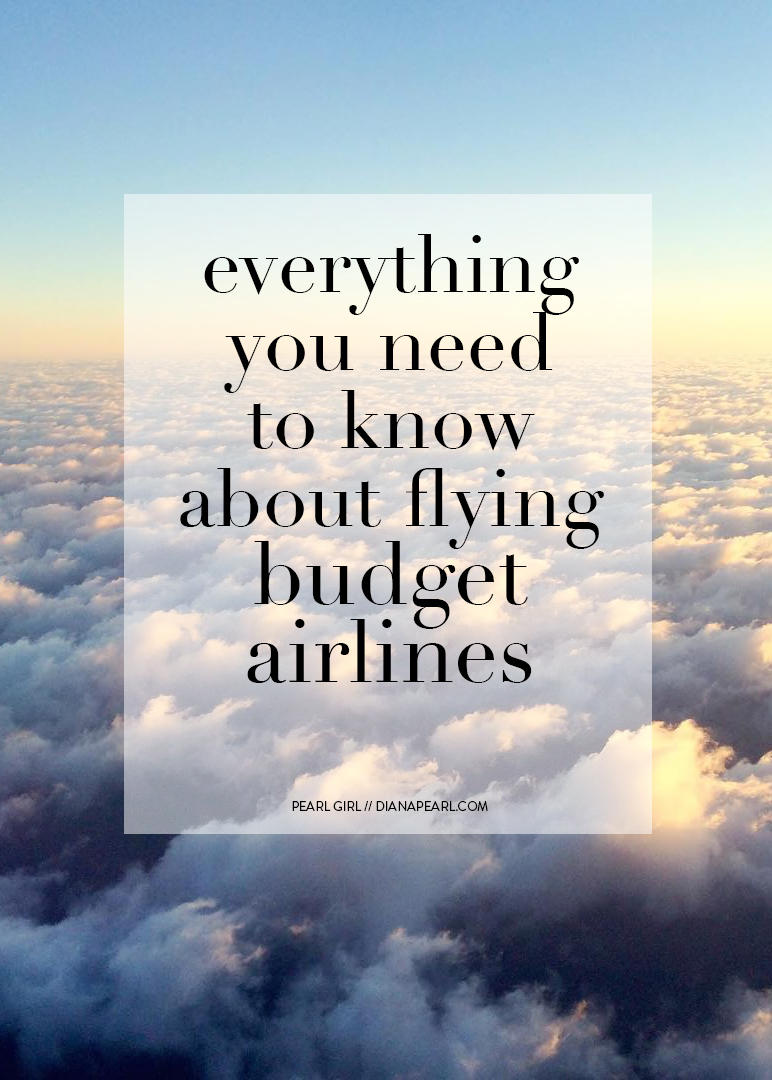 Everything You Need to Know About Flying Budget Airlines, Norwegian, Spirit Airlines Reviews // Pearl Girl