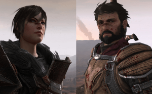 Default male & female PC.