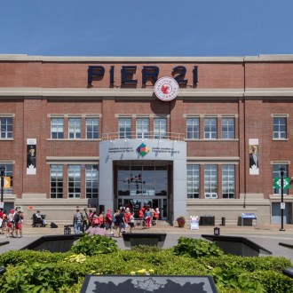 Musings About Immigrants at Pier 21