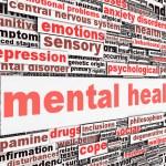 Mental health message concept. Psychological symbol design