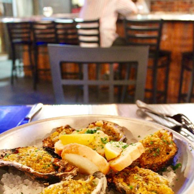 Chargrilled oysters at gallianorestaurant have made me a fan! oystergirlhellip
