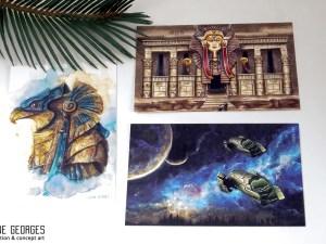 Stargate postcard