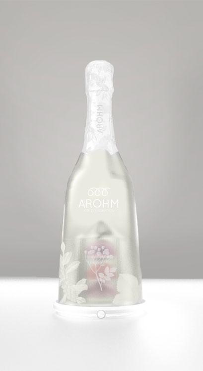 Projet Arohm, identité visuelle et design packaging