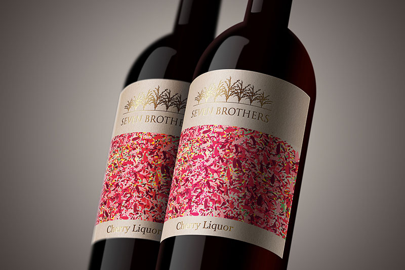 vignette 7 brothers, packaging design