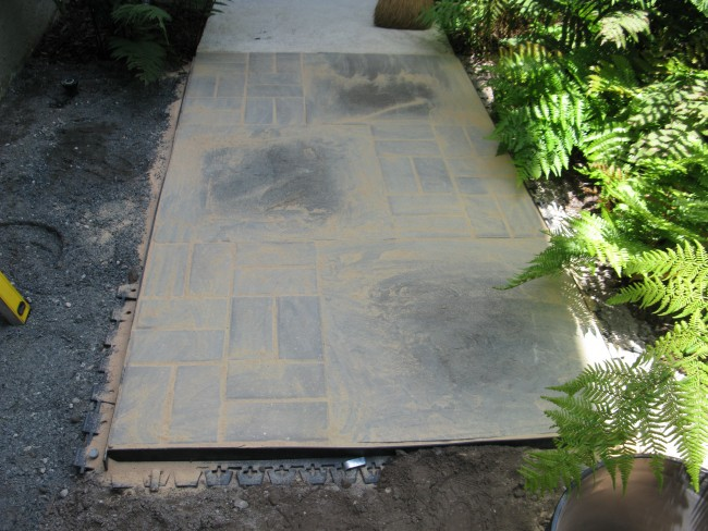 5 tips for installing a paver walkway - diane and dean diy