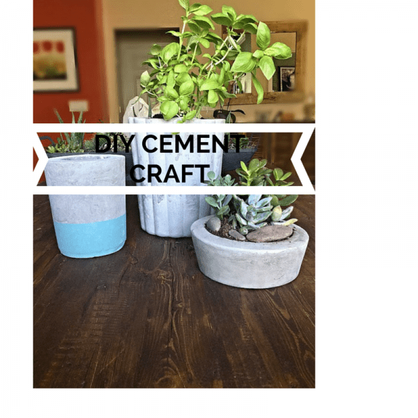DIY Cement Craft