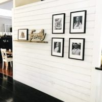 How To DIY A Shiplap Accent Wall In One Day