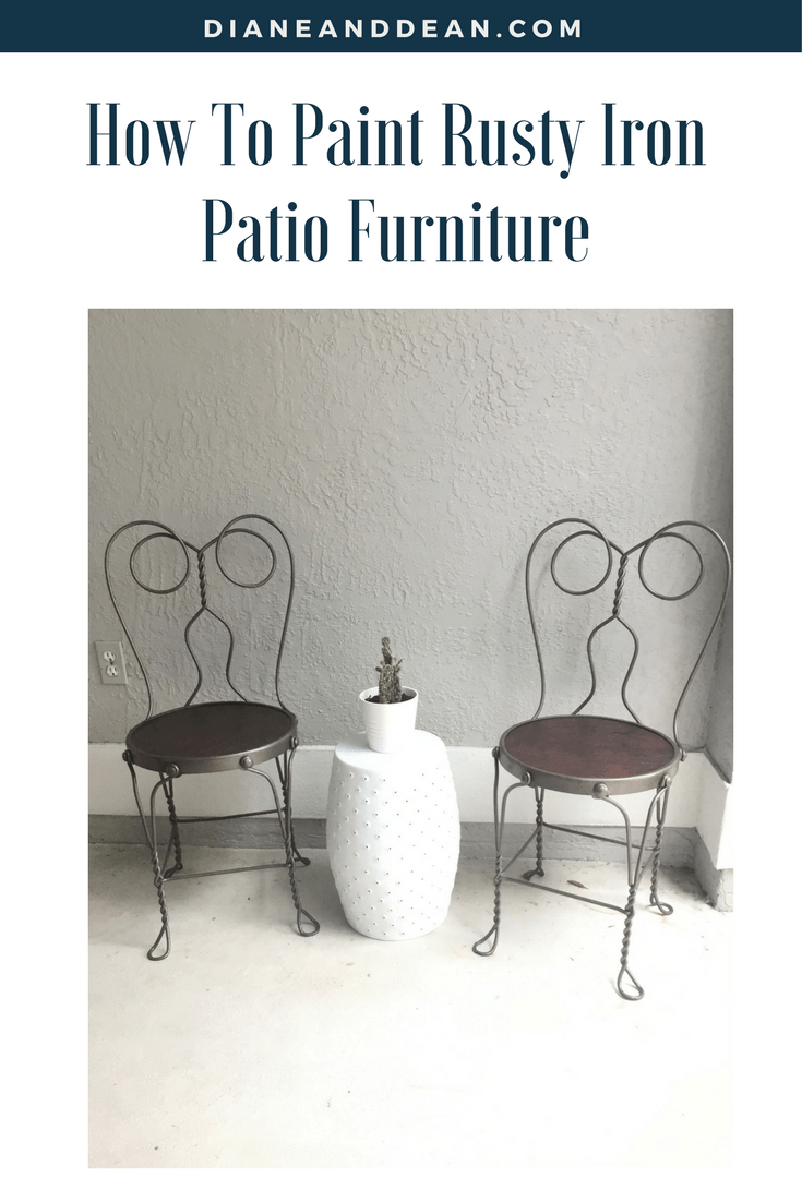 How-to-paint-iron-Patio-furniture
