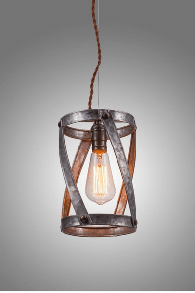 Rustic pendant lighting to swoon for rustic industrial pendant lighting aloadofball Image collections