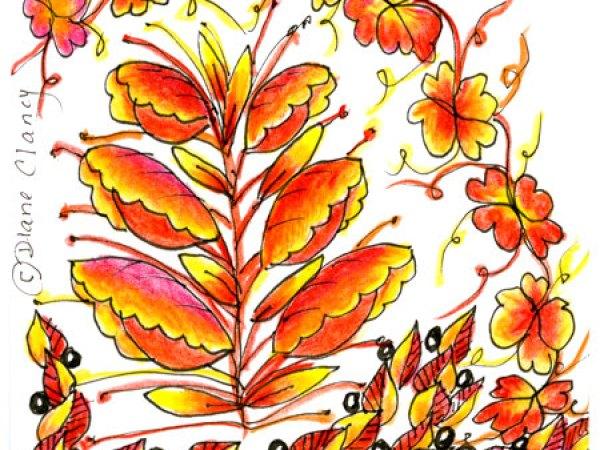 Birthday Leaves