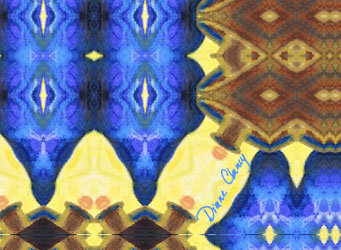 Blue & Brown Tapestries