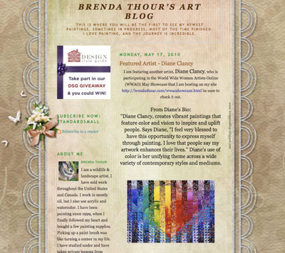 Featured by Brenda Thour
