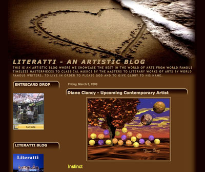 Featured at Literatti - An Artistic Blog