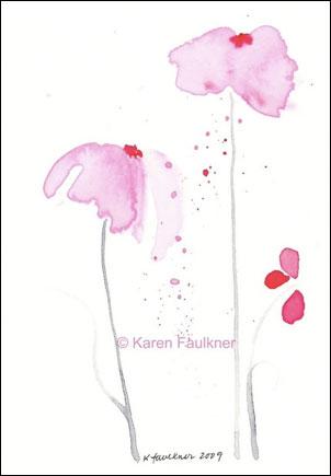 Pink Showers, © Karen Faulkner Art