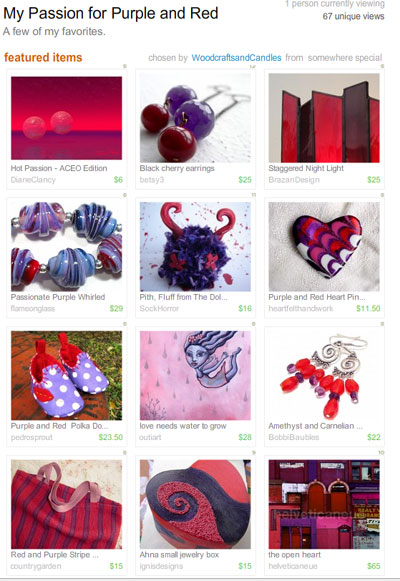 Red/Purple Treasury