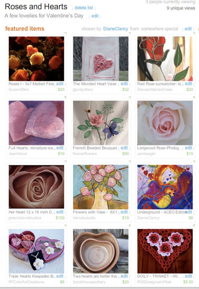 Roses & Hearts Treasury