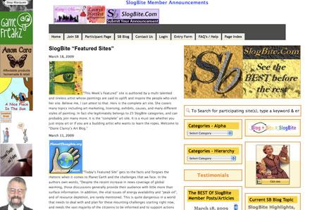 Featured at SlogBite