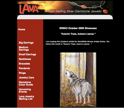 Autumn Trees, Autumn Leaves, October WWAO Exhibit