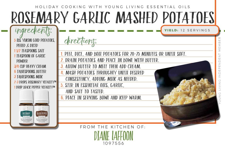 Rosemary Garlic Mashed Potatoes