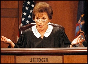 Legal stuff is boring but necessary, unless you are Judge Judy!