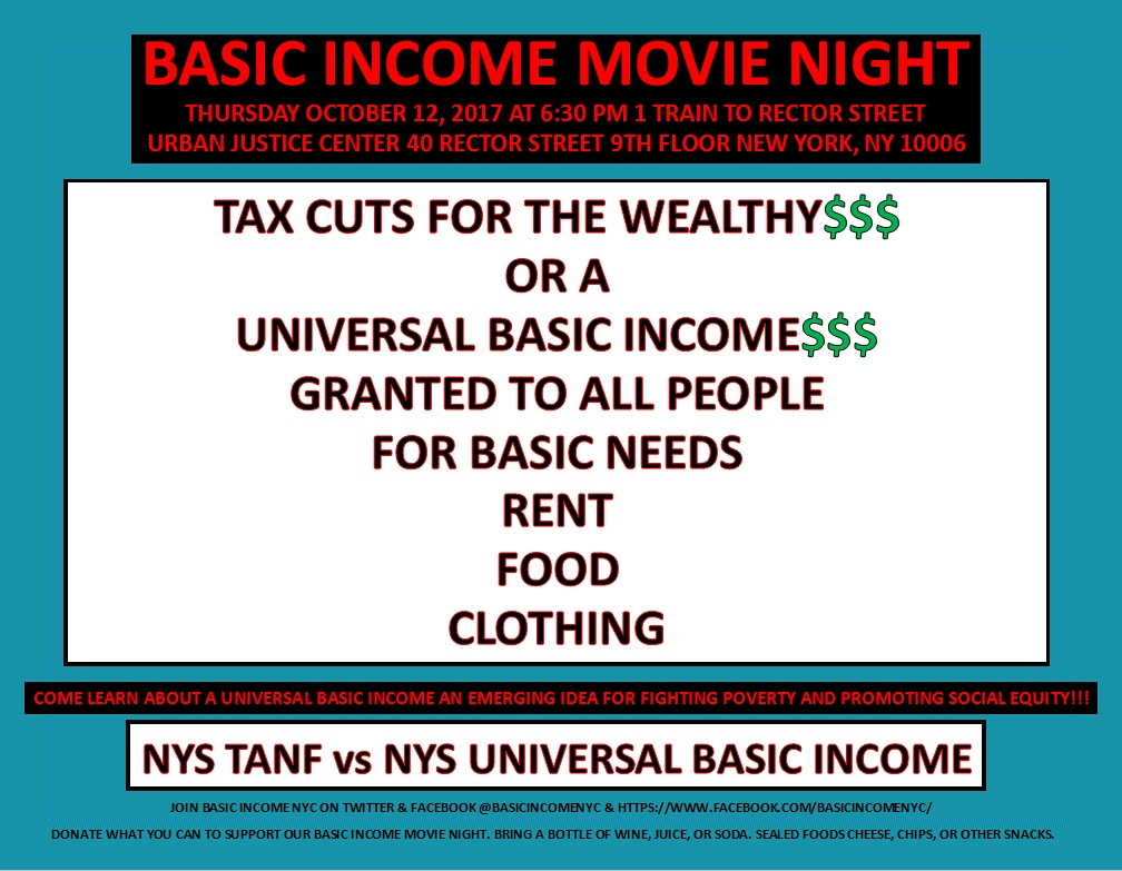 Basic Income Movie Night