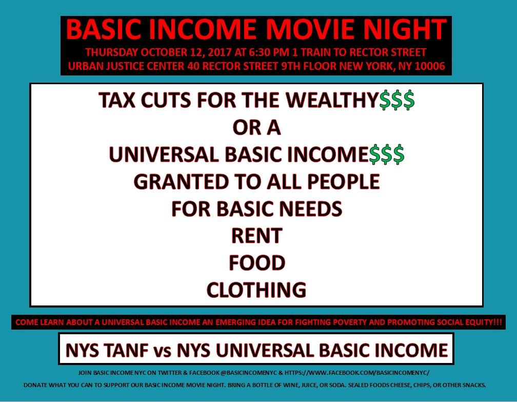 Basic Income Movie Night