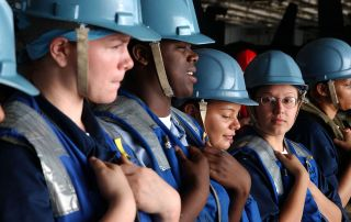 Blue collar workers