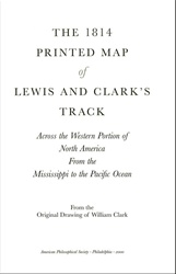 Cover of the 1814 Printed Map of Lewis and Clark's Track