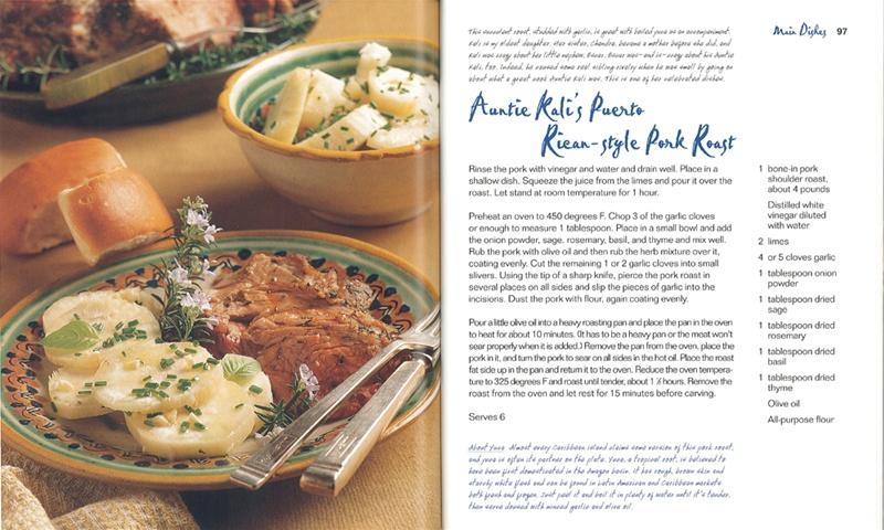 Auntie Kali's Puerto Rican-Style Pork Roast