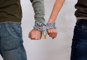 couple-chained-together