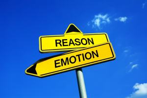reason and emotion sign
