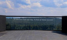 An image of the Flight 93 National Memorial to consider when remembering September 11.