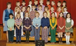How to decrease school shootings: image of my 3rd grade class and our teacher.
